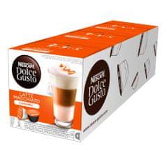 NESCAFÉ kavne kapsule Dolce Gusto Caramel Macchiato, trojno pakiranje - odprta embalaža
