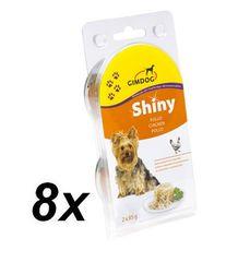 Gimpet mokra karma dla psa SHINY DOG - kurczak - 8x (2 x 85g)