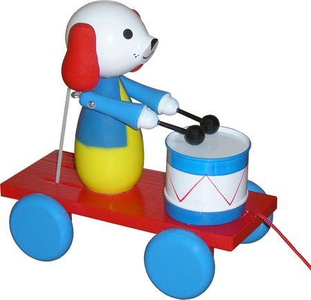 Miva Vacov Húzós játék doboló figurával