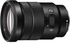 Sony SELP18105G objektiv, zoom