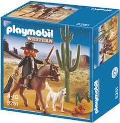 Playmobil Šerif s koněm