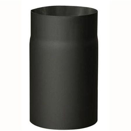 M.A.T Group rura kominowa, 120mm/250mm, gr. 1,5mm, czarna