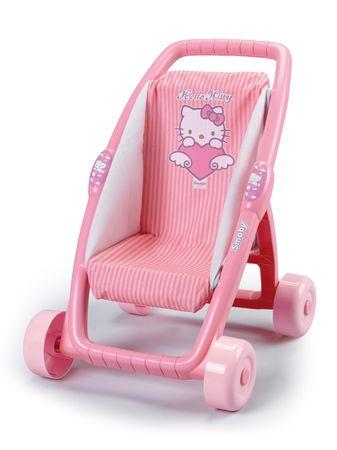 Smoby Sportovní kočárek Hello Kitty pro panenky