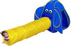 Bino Namiot dziecięcy - Słoń z tunelem