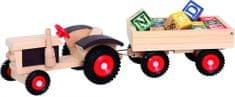 Bino Traktor z przyczepą