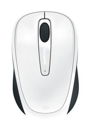 Microsoft Mobile Mouse 3500, błyszcząca biel