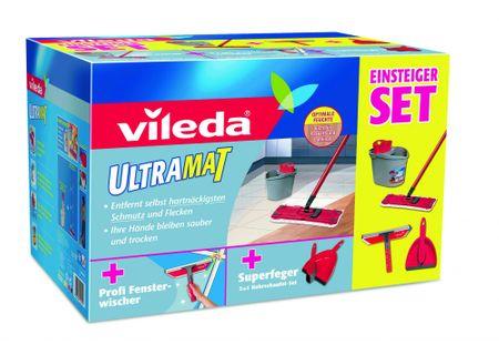 VILEDA Ultramat set box + zmetáčik a stierka