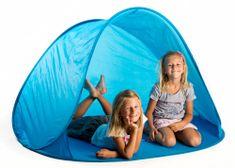 Teddies Namiot dziecięcy plażowy 145 x 100 x 88 cm, niebieski