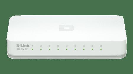 D-LINK switch 8 portni (GO-SW-8E)