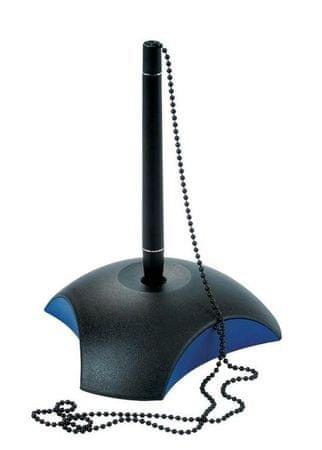 Han Kemični svinčnik na stojalu Delta, modro črn