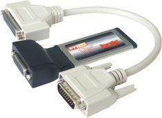 ST Lab ExpressCard razširitvena kartica ST-Lab C-370 1x paralelni