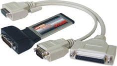 ST Lab PCMCIA razširitvena kartica ST-Lab ExpressCard C-320 2 x serijski vhod