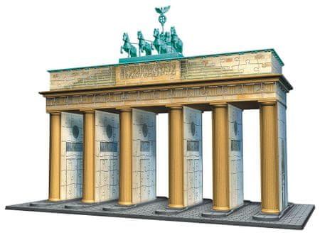 Ravensburger 3D Brandenburgi Kapu Puzzle, 324 darabos