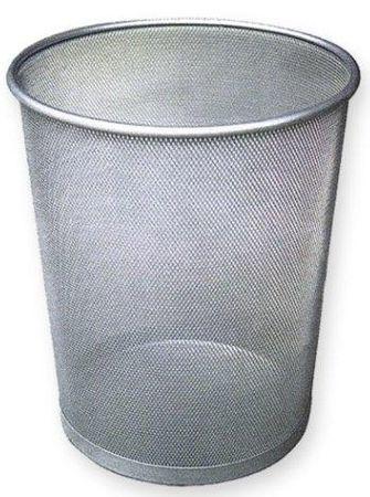 Optima Koš za smeti valjast LD01-159 srebrn