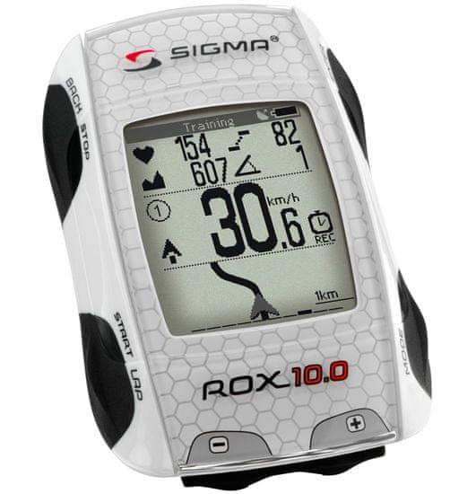 Sigma ROX 10.0 GPS Set bílá
