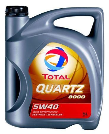 Total motorno olje Quartz 9000 5W-40, 5l