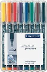 Staedtler Permanentni flomaster Lumocolor M 317/WP8 8/1