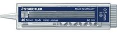 Staedtler Mine za svinčnike Mars micro 05-HB, 40 kom, 10 pak