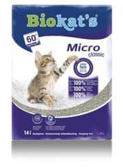 Biokat's żwirek dla kota Micro Classic 14 L
