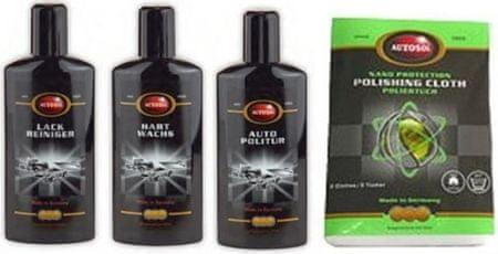 Autosol Set za poliranje laka Polish Shine XL