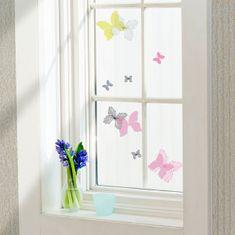 Crearreda dekorativna nalepka za okno, metulji