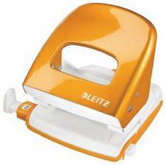 Leitz Luknjač Leitz 5008-20, oranžen
