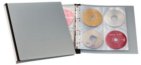 Durable album za CD/DVD medije Durable, srebrn (5277)