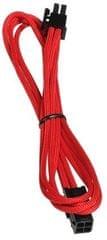 BitFenix Podaljšek 4-pinski ATX12V, 45 cm, rdeč