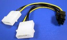 Akasa Adapter iz 4-pin molex na 6-pin PCIe AK-CB4-6