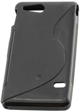 Silikon Case ovitek za Sony Xperia P (T22i), črn
