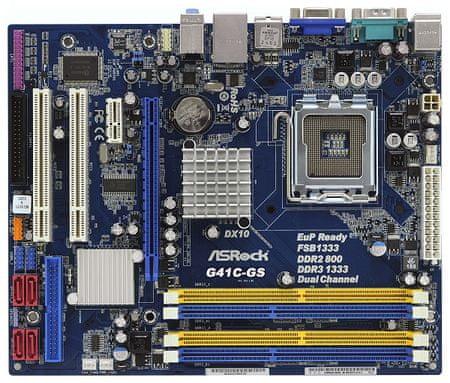 ASRock matična plošča G41C-GS R2.0, LGA775