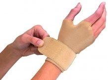 Mueller Kompresijska rokavica S Bež