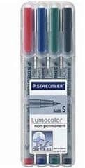 Staedtler Nepermanentni flomaster Lumocolor S 311/4, set 4