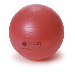 Sissel lopta za vježbe ravnoteže Securemax Exercice Ball, promjer 65 cm, crvena