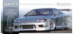Yokomo S15 Silvia Drift RC avto DPS15