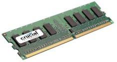 Crucial memorija (RAM) za računalnik DDR2 2GB 800 MHz (CT25664AA800)