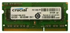 Crucial Pomnilnik (RAM) za prenosnik DDR3 4GB 1600 MHz (CT51264BF160BJ)