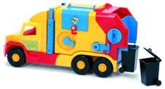 Wader Super Truck smetiar krátky