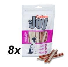 Calibra Joy Dog Chicken & Fish Sandwich jutalomfalat, 8 x 80 g
