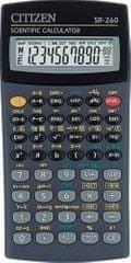 Citizen Kalkulator SR-260 črn