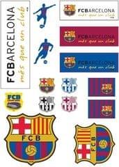 Barcelona FC Set nalepk DIN, A4