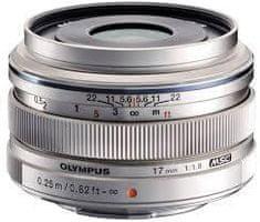 Olympus 17mm M.ZUIKO DIGITAL 1:1,8 Silver