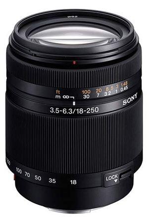 Sony objektiv DT SAL 18-250mm, F3,5-6,3, SAL18250