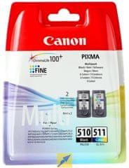 Canon PG-510 / CL-511 Multi pack (2970B010), barevná