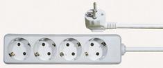 Emos podaljšek 3 m, 4 vtičnice (P0423)