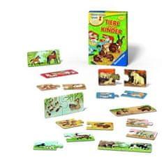 Ravensburger namizna igra Živali in njihovi mladiči