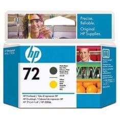 HP glava za ispis C9384A crna i žuta  boja #72