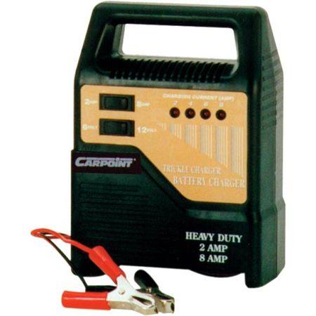 CarPoint Akkumulátor töltő 6/12V 8A