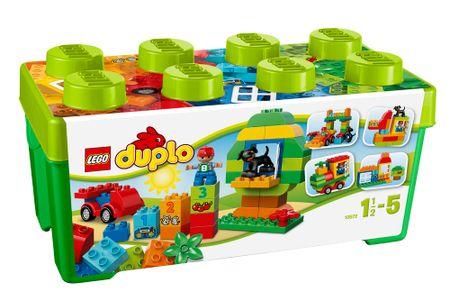 LEGO DUPLO® Kocky 10572 Box plný zábavy