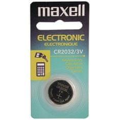 Maxell Baterija CR2032, 3 V, 1 komad